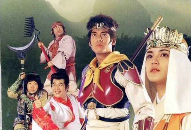 日本94年版《西游记》海报