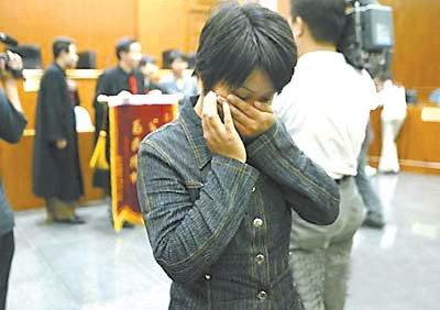 仗义打工妹吴金艳获释后掩面而泣