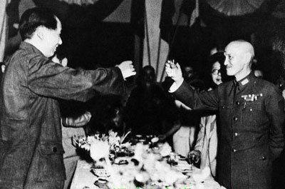 毛泽东与蒋介石的最后一次面对面谈话