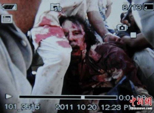 利比亚当局新闻官称被俘者透露卡扎菲藏身地