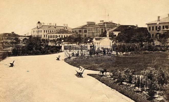 租界时期的外滩公园