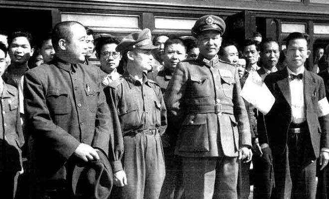 二二八事件后,白崇禧奉命前往台湾宣抚民众