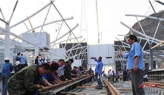 中国铁建的沙特轻轨项目