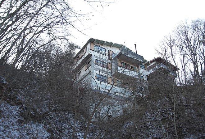 2009年时的浅间山庄
