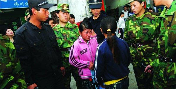 2008年被解救的童工女孩哭称不愿回家
