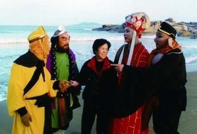 杨洁与《西游记》演员
