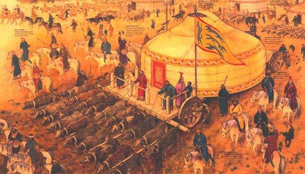 成吉思汗的军事成功离不开对游牧社会的改造