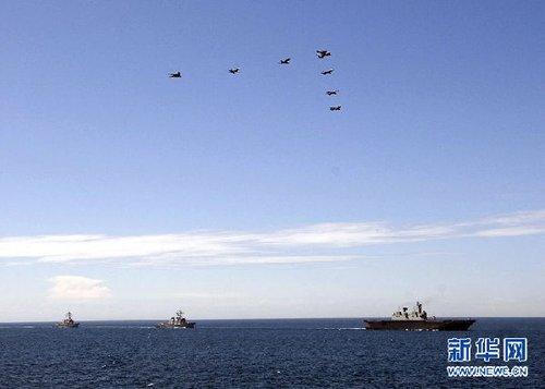 美国与东盟国家定期举办的卡拉特联合海上演习