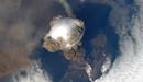 俄罗斯火山喷发奇景