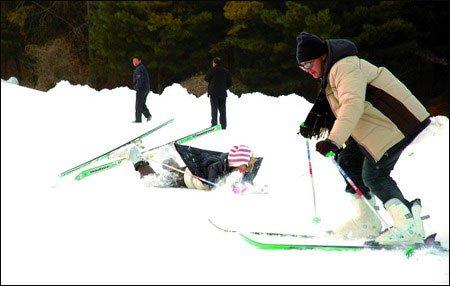 滑雪装备的七种武器