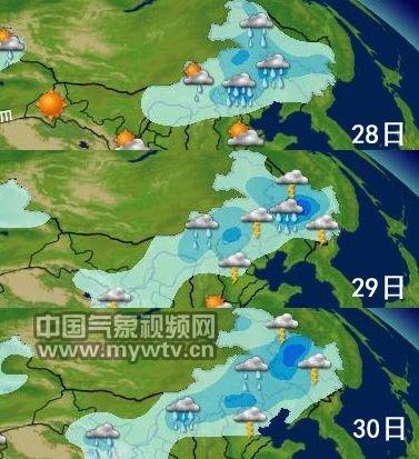 东北三省_东北华北多雷雨天气_华北理工大学