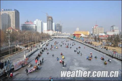 气网讯 连日来青海大部分地区的日 昨日(2月4日)下午,西宁的日最图片
