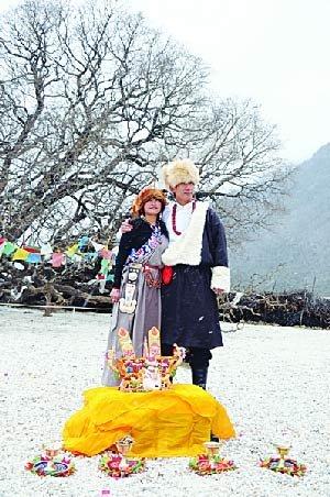 冬游大美西藏 饱览藏族风俗