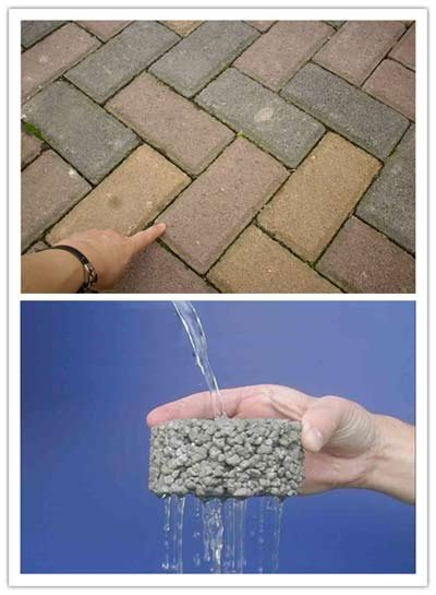 城市道路和降水回收利用