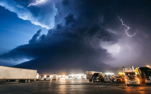 摄影师拍下的超震撼风暴
