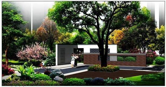 花墙 景观 墙 植物 550_289图片