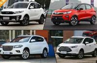 四款高品质自主小型SUV推荐 便宜也有好货