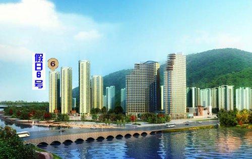碧海鹏城观海绝佳位置精装公寓首付7万起
