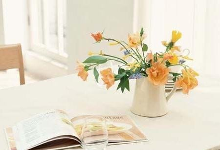 养眼又助运不同空间的鲜花摆放风水