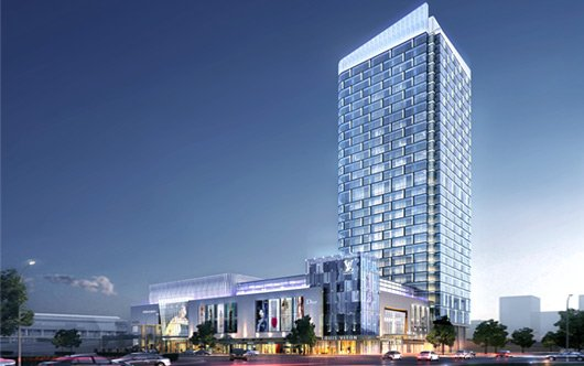 威海首座标准化楼宇经济写字楼——鼎信大厦
