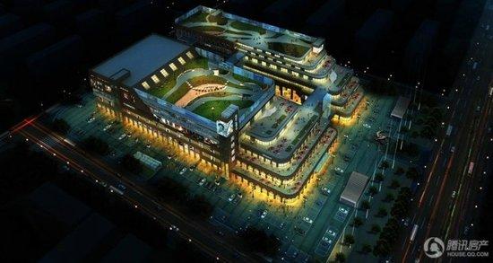 奥特莱斯商业中心均价每平30000目前在做外立面高清图片