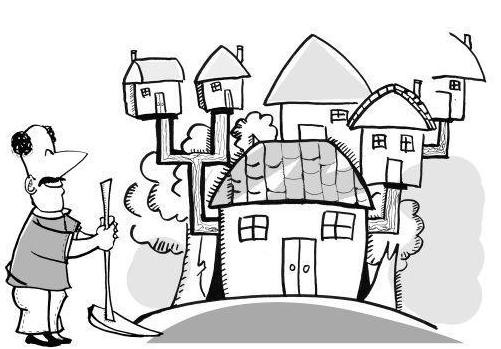 农民不进城买房 房价能降不?
