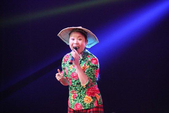 """2014年度《星光大道》总冠军杨帆 《我是大明星》10强选手""""杀猪姐"""