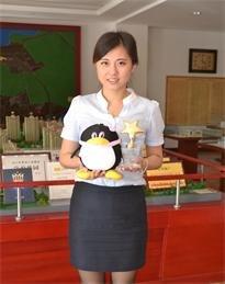 对话学府华园置业顾问刘芳雅
