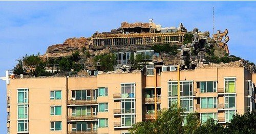 北京现别墅上的别墅看威海v别墅楼顶最低175万别墅武吉泳池图片