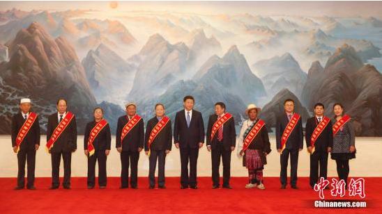 教育扶贫创新18年,碧桂园杨国强获习近平亲切接见