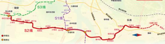市域铁路S2线一期工程今天开工