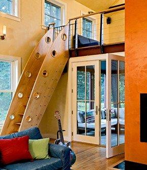 挑高空间的加法设计 12个loft的美妙夹心