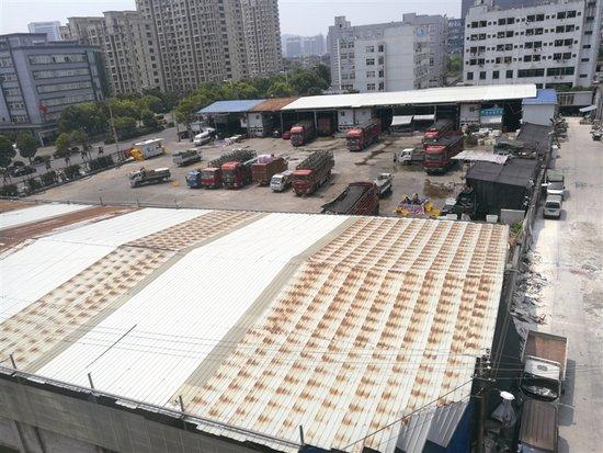"""""""富禄川""""违建铁棚已拆除 经营户预计两个月后搬迁"""