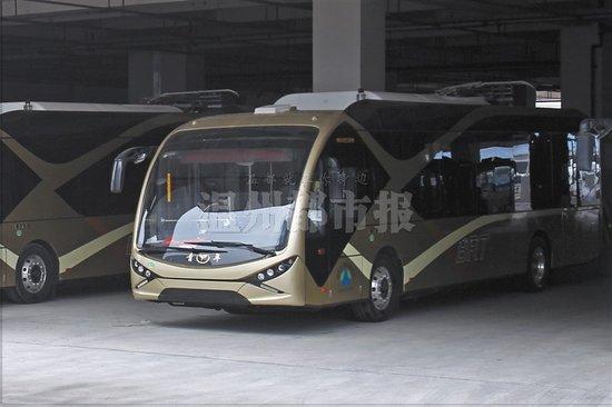 BRT壹号线试运转:从副屿到温州火车站 用时40分钟