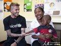 小贝南非探访艾滋患者