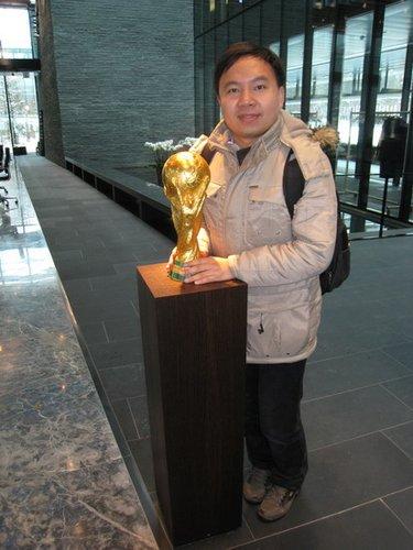 2010年世界杯五大洲国家队探营记者——李博
