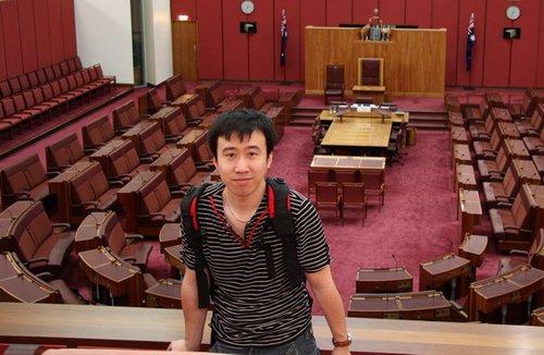 2010年世界杯五大洲国家队探营记者—徐大鹏