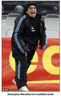 马大帅称阿根廷渐入佳境:世界将在我们脚下