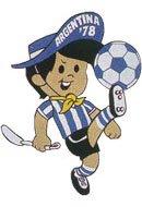 """第4个吉祥物""""高切托"""":1978年阿根廷世界杯"""