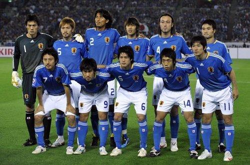 日本卷:东瀛武士师从巴西  连续4次进世界杯