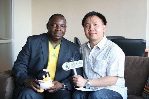 32强探营-专访南非足协主席 为何挑战中国队