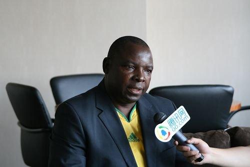 32强探营-南非足协主席:期待与中国足球合作