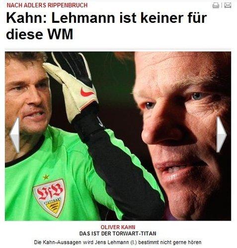 卡恩专访:莱曼不行了 拜仁应保护里贝里隐私