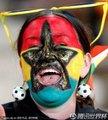 加纳球迷加油助威