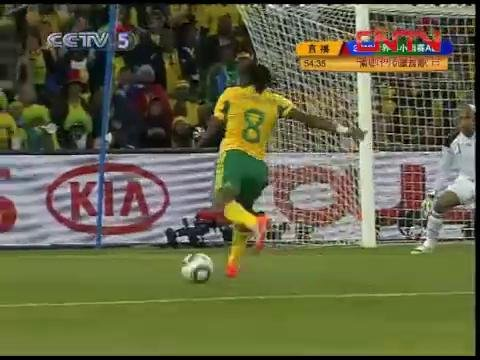 视频:世界杯揭幕战 南非墨西哥打平握手言和