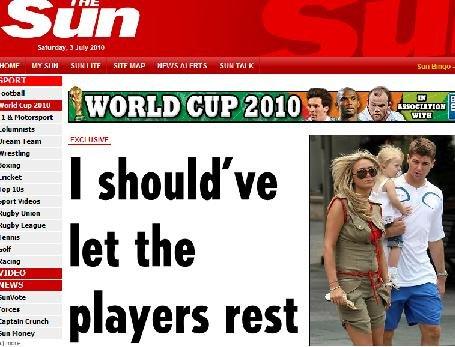 卡佩罗后悔没给球员放假 身心俱疲酿出局惨剧