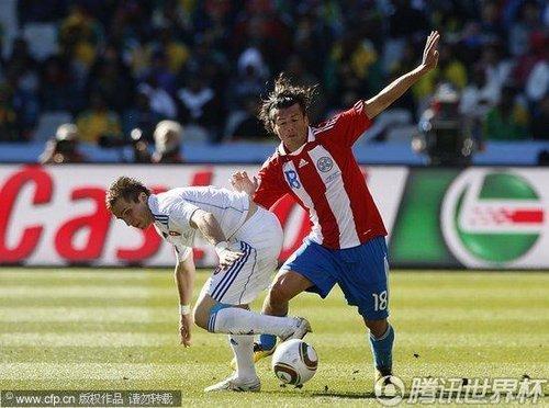 巴拉圭希望之星最爱梦游 世界杯376分钟0进球