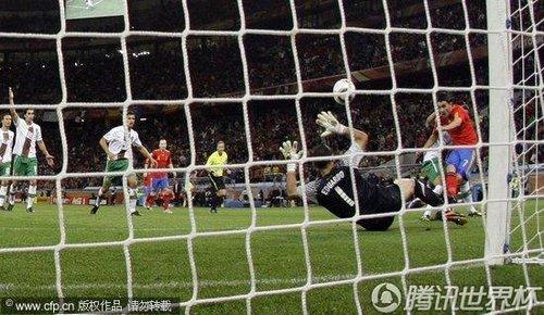 2010世界杯:西班牙vs葡萄牙