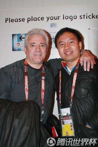 专访基冈:阿根廷踢性感足球 支持他们夺冠军