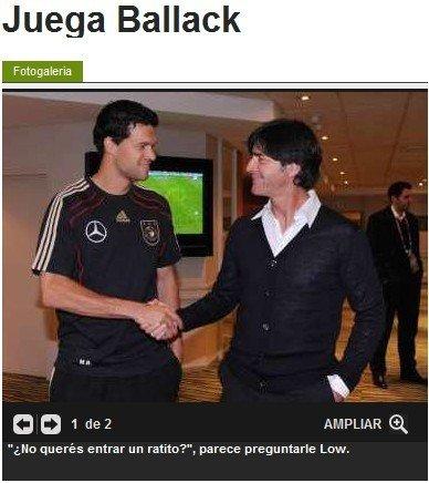 巴拉克预言德国3-2阿根廷 谁遇日尔曼谁倒霉